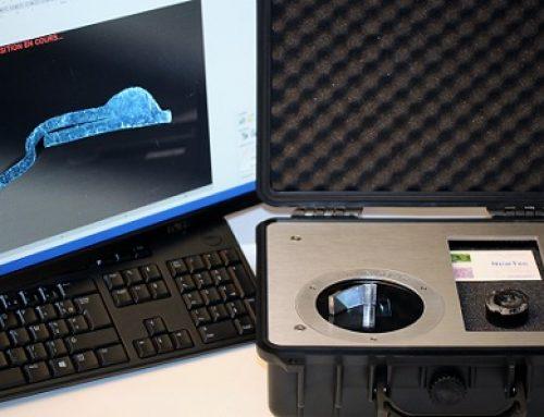Controlo macrográfico de soldaduras – IRIS