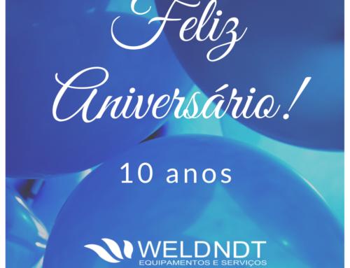 A WELDNDT está de parabéns!